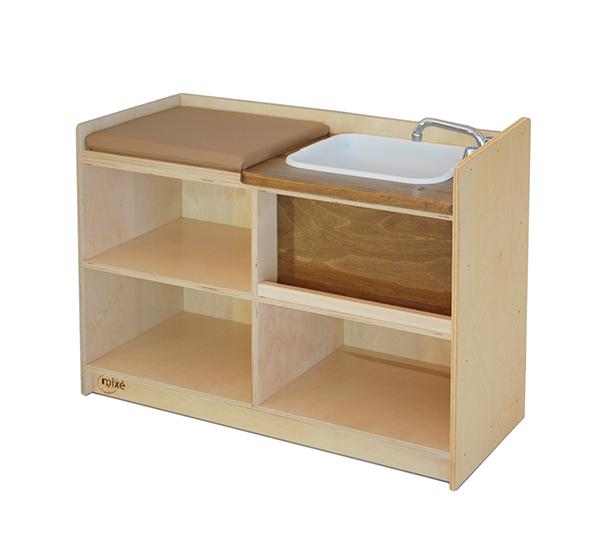 Tables langer pour poup es atelier mix for Table a langer petite largeur
