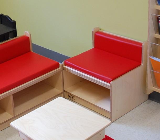 fauteuil petit dossier hauteur 18po assise 12po atelier mix. Black Bedroom Furniture Sets. Home Design Ideas